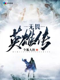 無畏英雄傳小說封面