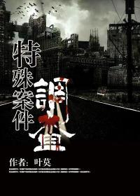 特殊案件调查小说封面
